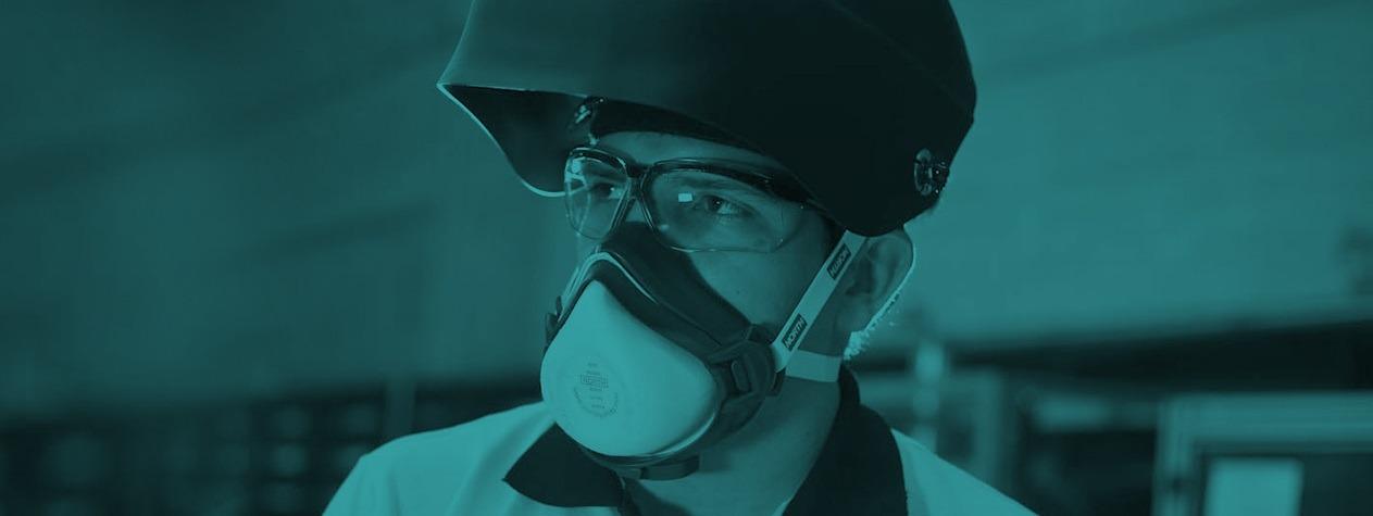 Publicação orienta sobre proteção respiratória