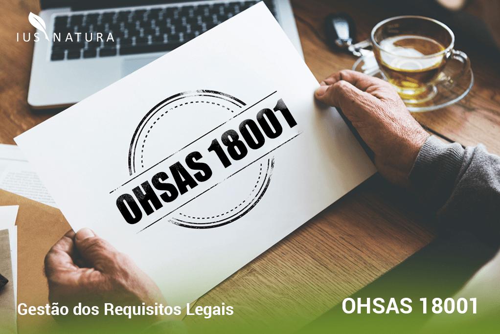 Gestão dos Requisitos Legais na OHSAS 18001