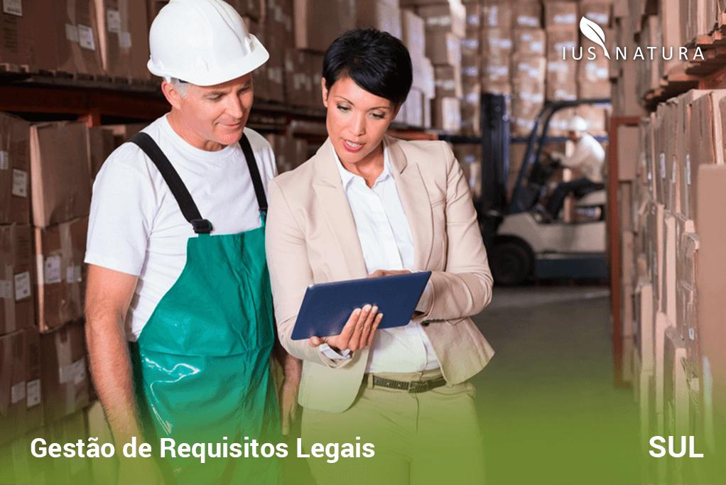 Gestão de Requisitos Legais na região Sul do Brasil