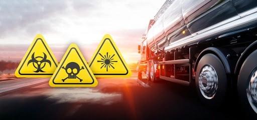 Sinalização no Transporte de Produtos Perigosos